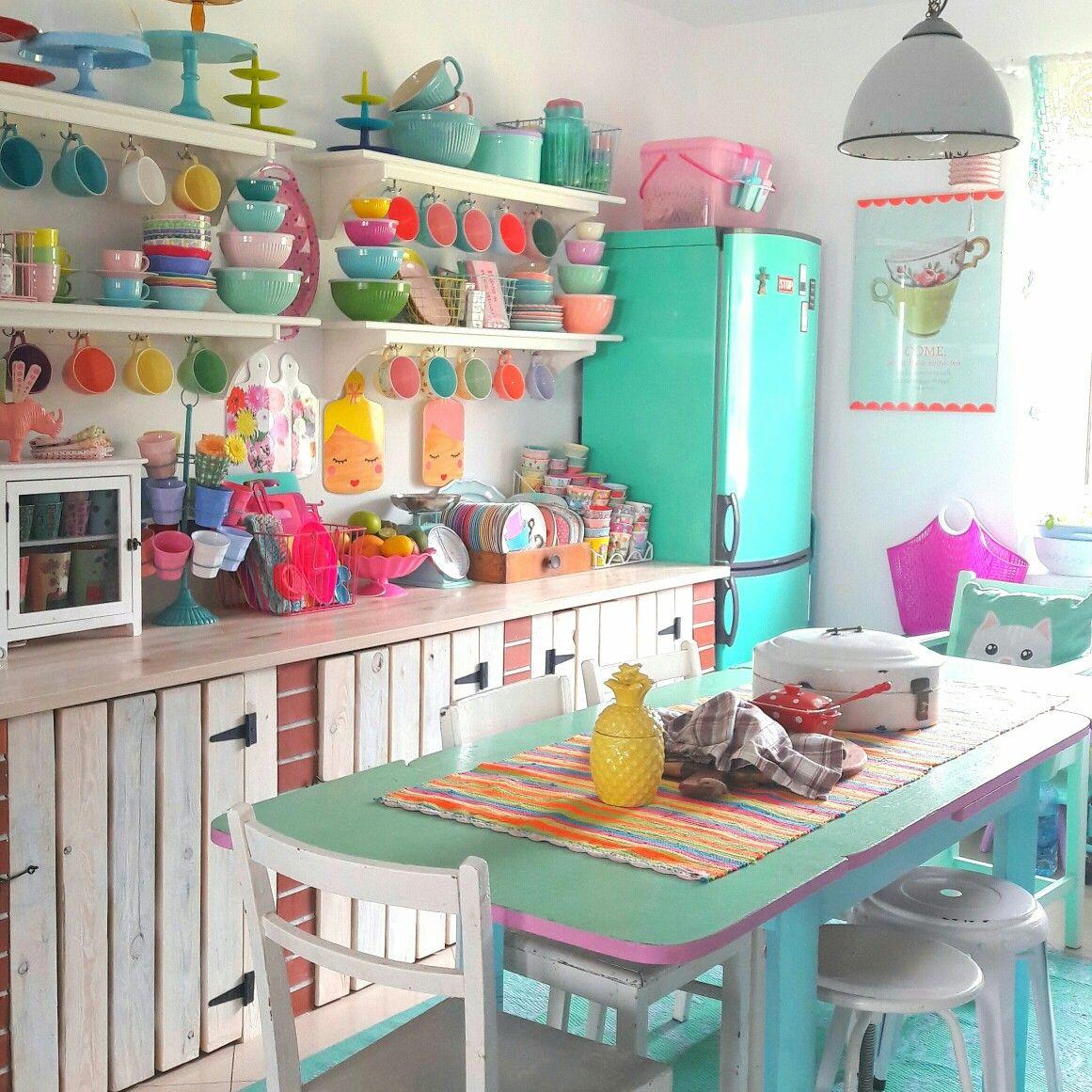 My colorful kitchen COLOROLII | kitchen | Pinterest | Kitchens ...