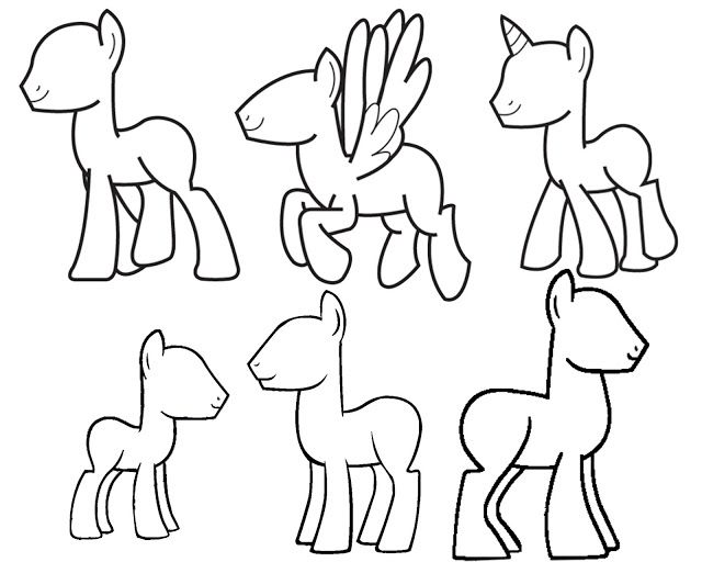 Design and DRAW your own My Little Pony! | drawing mlp | Pinterest ...