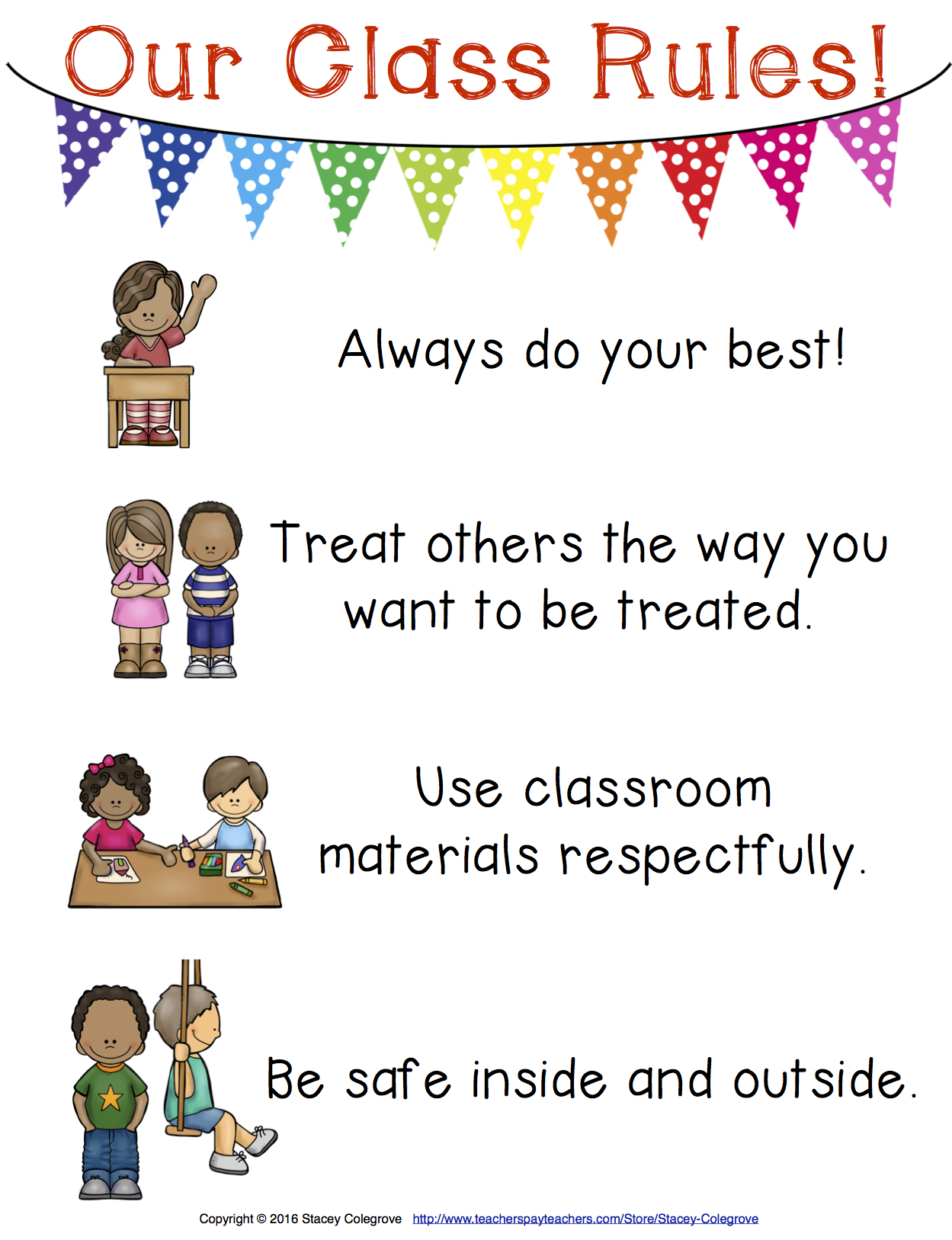 Editable Responsive Classroom Management Posters Morning
