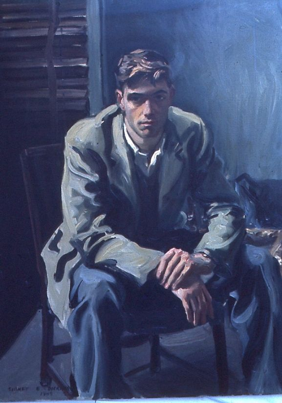 Portrait of Thorn Dickinson 1948