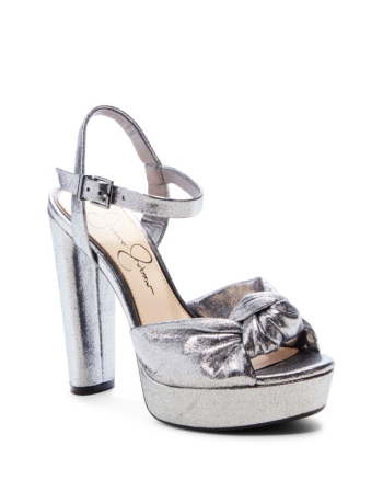 a879b44f0e Jessica Simpson Ivrey Knot Platform Sandals - Black 5.5M in 2019 ...