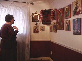 Praying to Icons