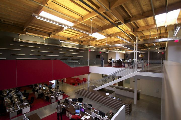 TVGla Warehouse Office By Charles Infante, Los Angeles Office Design
