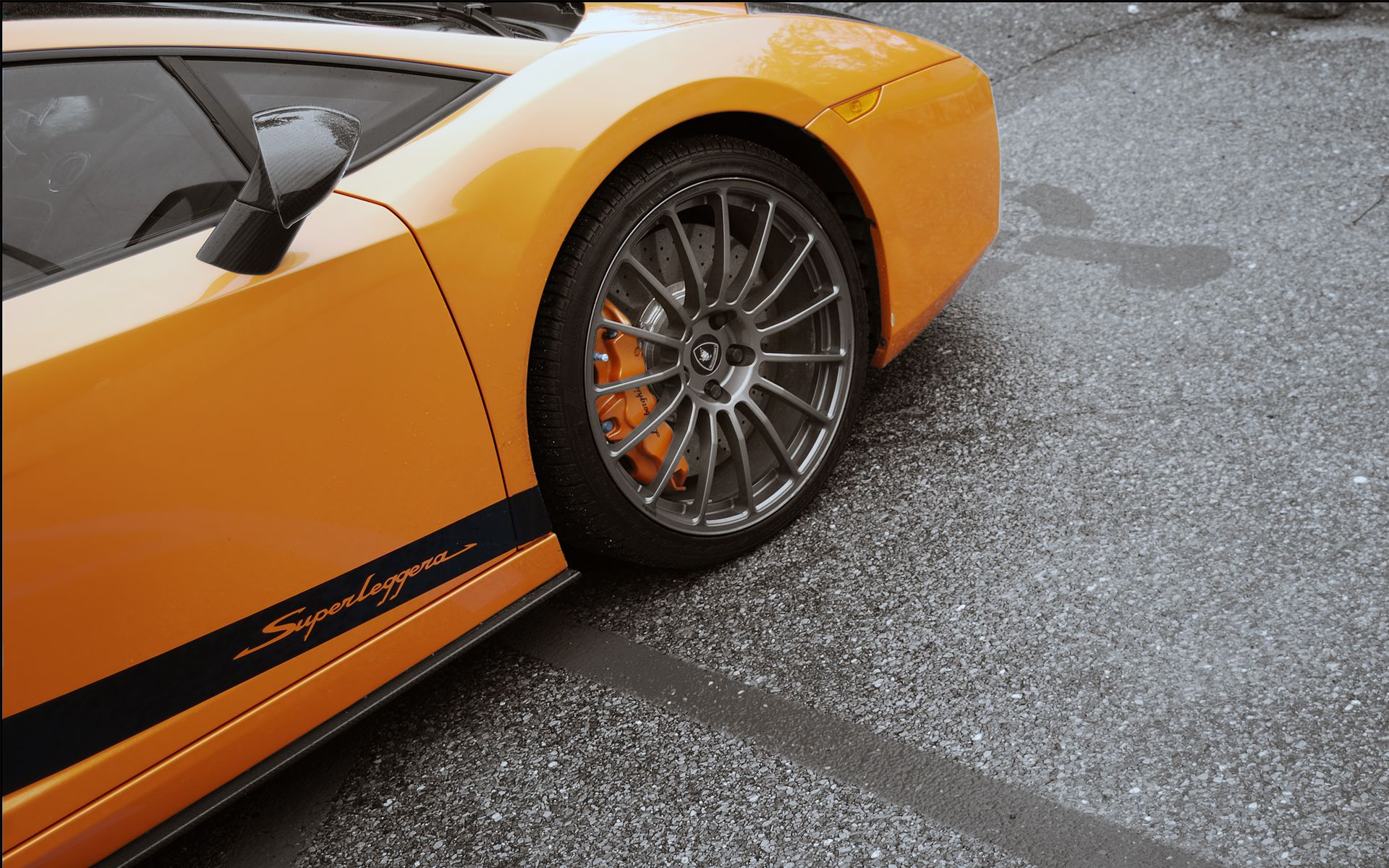 Lamborghini Gallardo Superleggera Orange