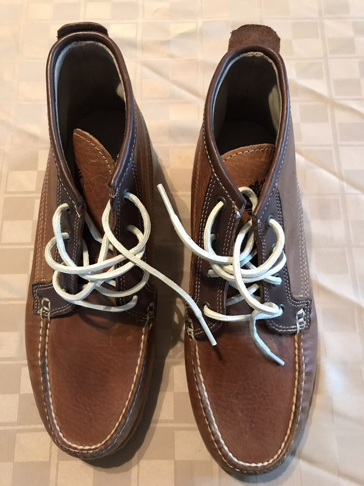 92d0fdd2a44fcd Timberland Men s Shoes Boots Short Boat Casual Brown Lace Up Chukka Sz 9  A17UT