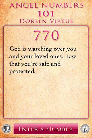 Angel Numbers 770 | Numerology | Angel numbers, Doreen
