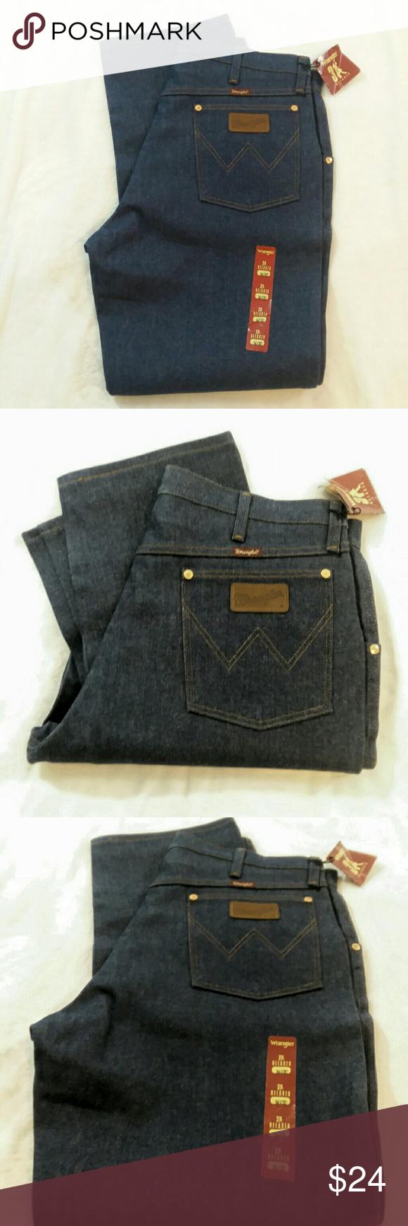 ea6a7910 Wrangler Jeans: Men's Rigid Indigo 31MWZ DN Cow When both comfort and  toughness are on