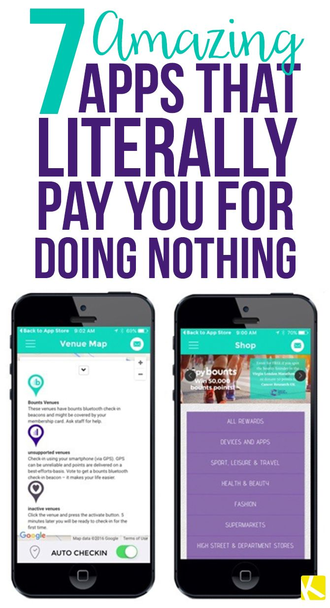 7 Amazing Apps That Pay You for Doing Nothing Apps that