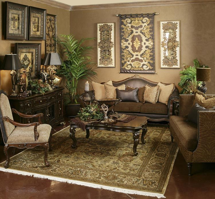 Living Room Style! Love!! Reminds Me Of A Former Tenant's