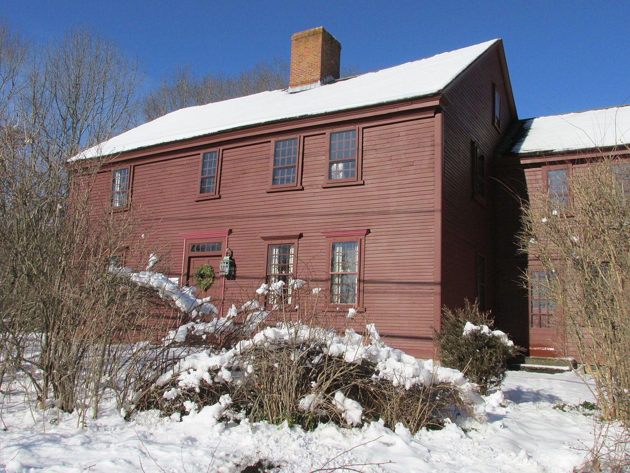 Daniel Bliss Homestead in Bristol County, Massachusetts