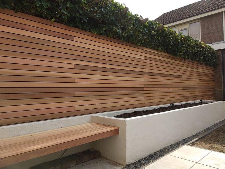 Photo of Western Red Cedar Zaun. Rautenprofil Garten Garten #Cedar #Fence #Fence backyard…