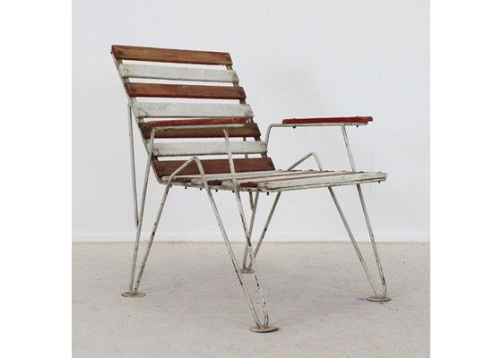 Belgian garden chair ca. 1950's