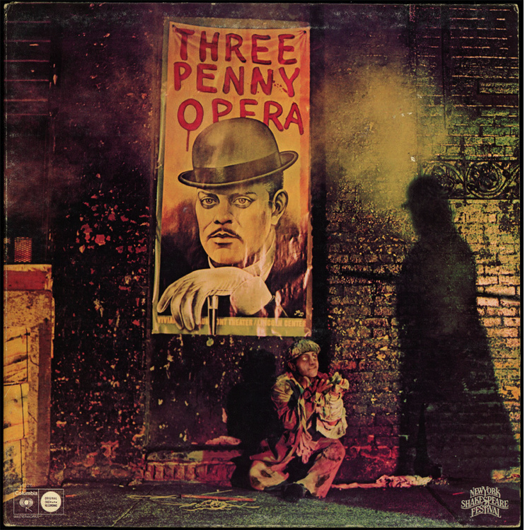 Three Penny Opera The Threepenny Opera Opera Lp Albums