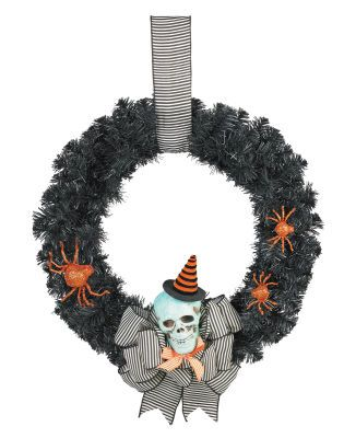 Skeleton Wreath Directions at   wwwmichaels/Skeleton - halloween michaels