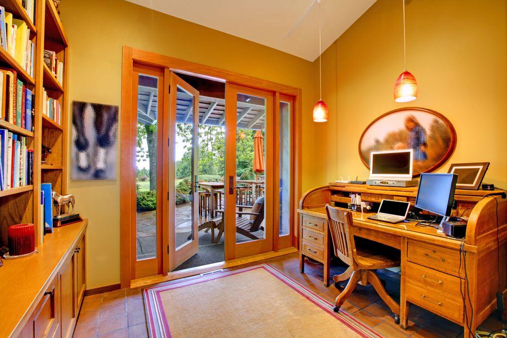 150+ Luxury U0026 Modern Home Office Design Ideas (Photo Gallery). Home Office  DesignOffice DesignsRolltop DeskWork ...