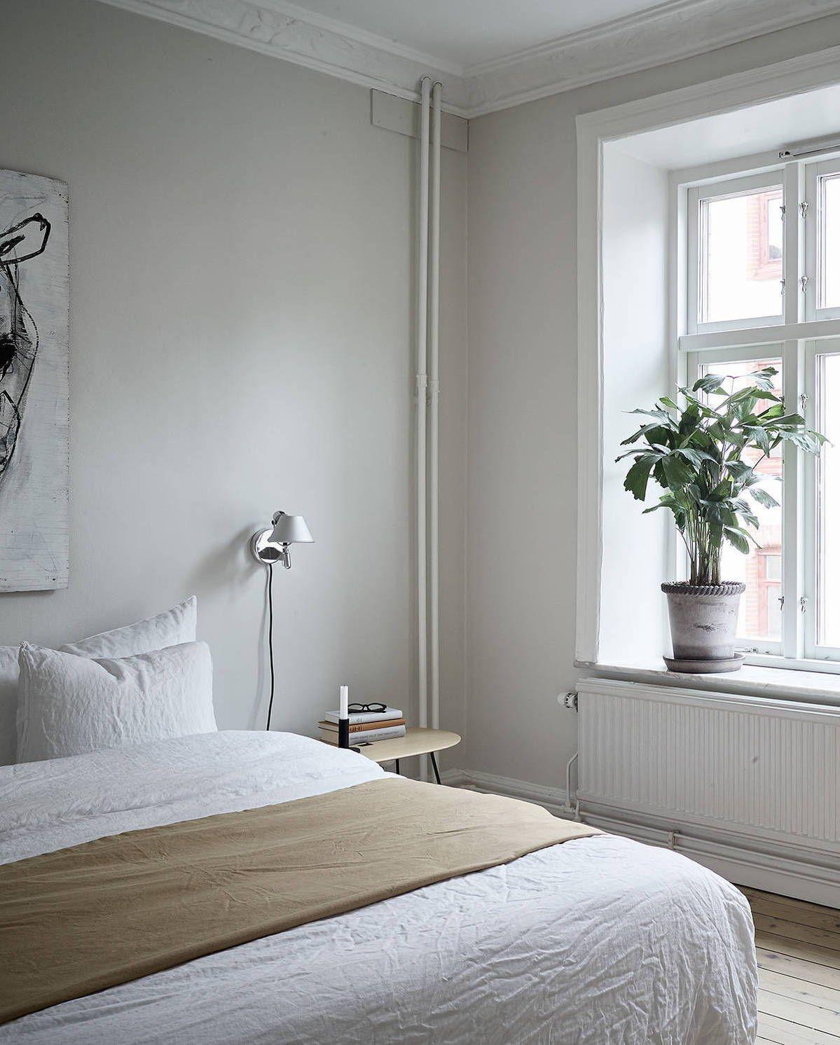 Stunning All white Master Bedroom Design Ideas   White ...