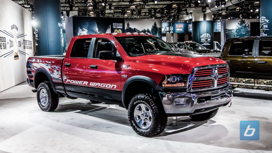 2015 four wheeler of the year contenders dodge 2500 power wagon - 2015 Dodge Ram 2500 Red