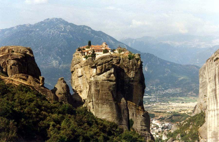 Griechenland: Kloster bei Meteora