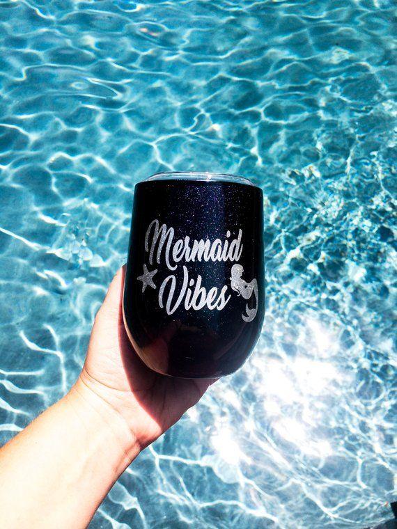 Mermaid Swig Wine Tumbler