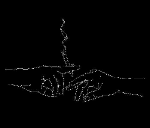 Cigarettes Smoke Drawing Outline Art Line Art Drawings