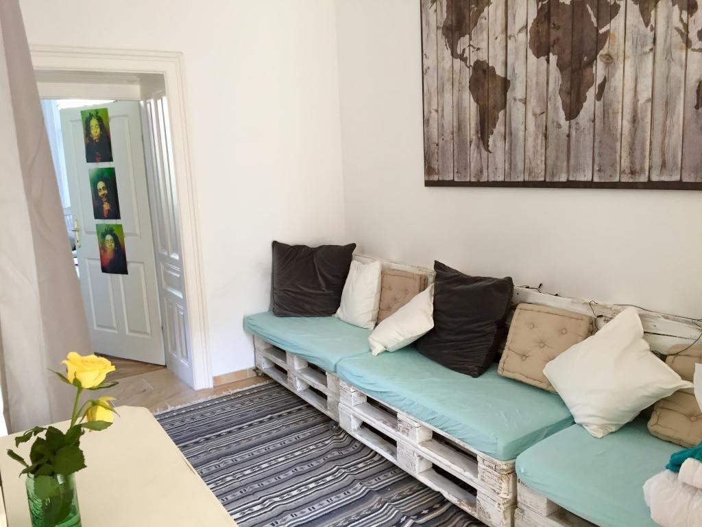ideen wohnzimmer diy : Ein Tolles Diy Sofa In Der Wg Kostensparend Und Sehr Schick Diy