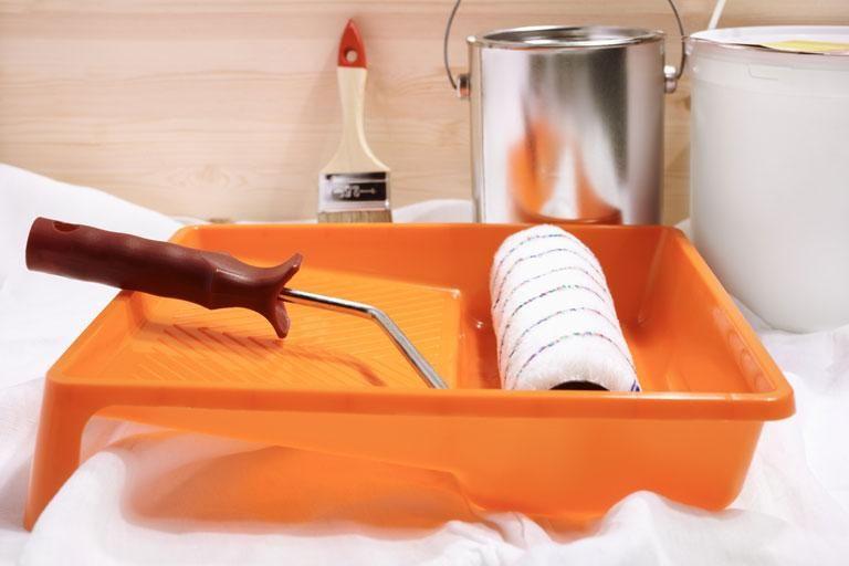 richtig wei streichen so wird 39 s gleichm ig checkliste f r den einkauf renovieren sauber. Black Bedroom Furniture Sets. Home Design Ideas