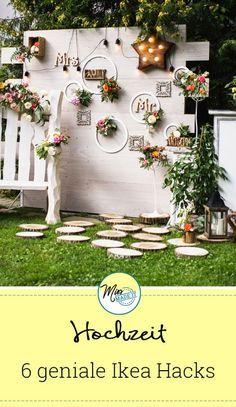 6 preiswerte Ikea Tricks für deine Hochzeit #weddingplanning
