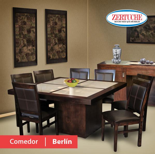 Comedor berlín nuevo comedor moderno en madera de banak en acabado ...