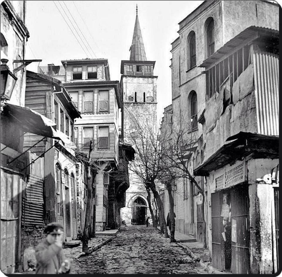 Arap Camii #Karaköy 1940lar #istanbul  #istanlook