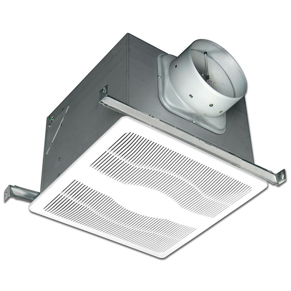 White 120 Cfm Dual Sd Motion And Humidity Sensing Sone Ceiling Exhaust Bath Fan Energy Star