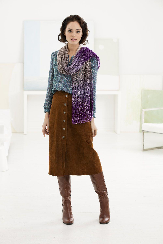 Burnham Market Shawl - free crochet pattern by Susan Haviland for ...
