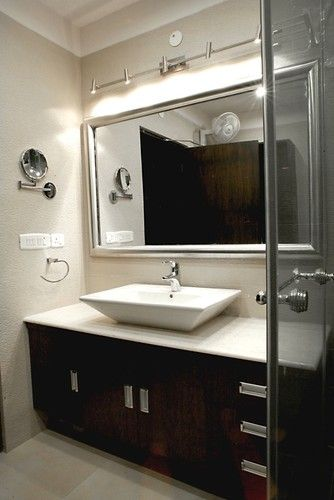 Bathroom Wall Track Lighting Above Mirror Bathroom Design
