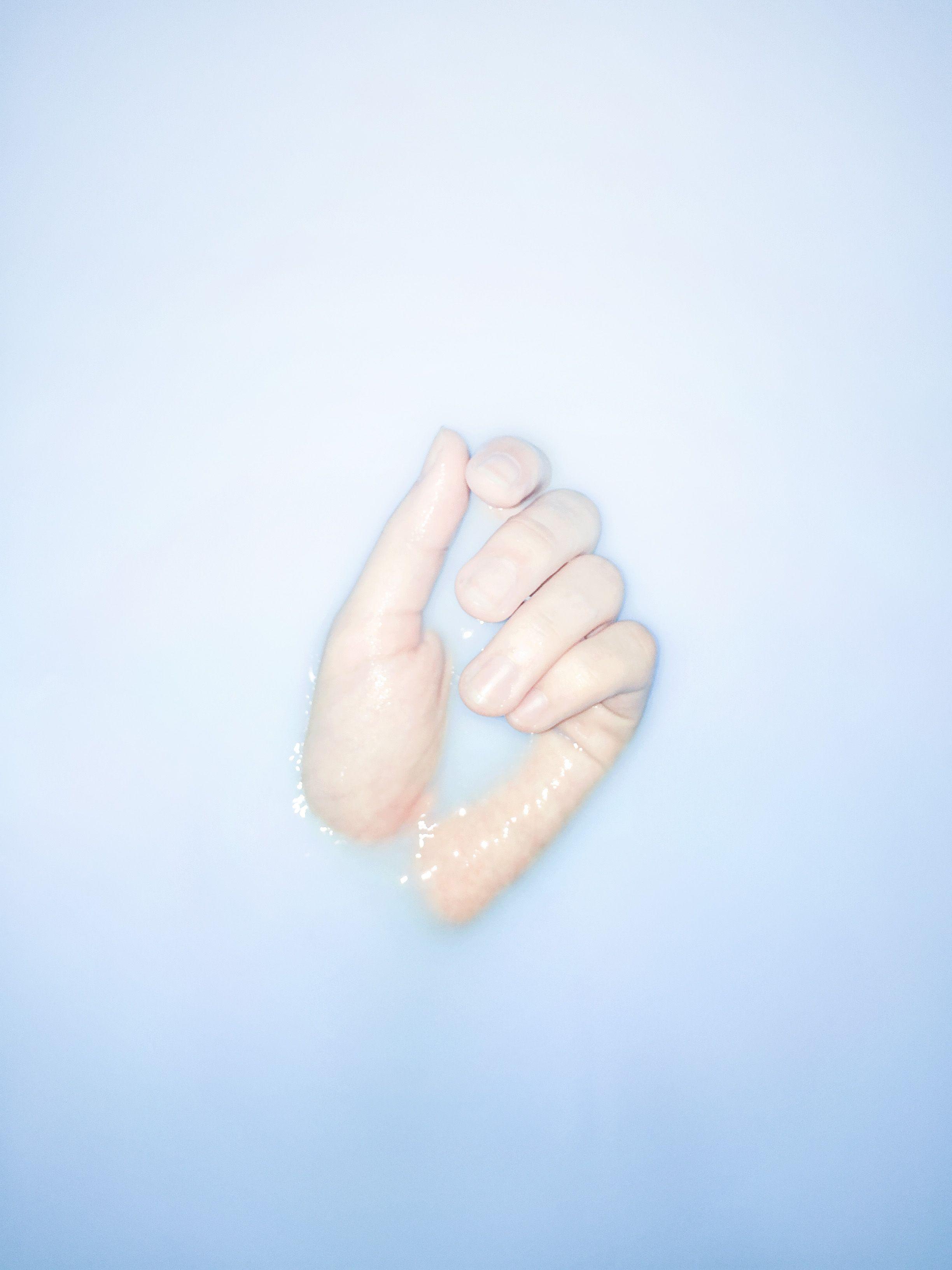 Water, Hand / 20141112  Copyright ⓒ Paramc #Blue #Color #Ar#Designt