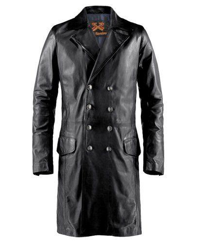 Soul Revolver The Butcher Gothic Leather Coat – Black