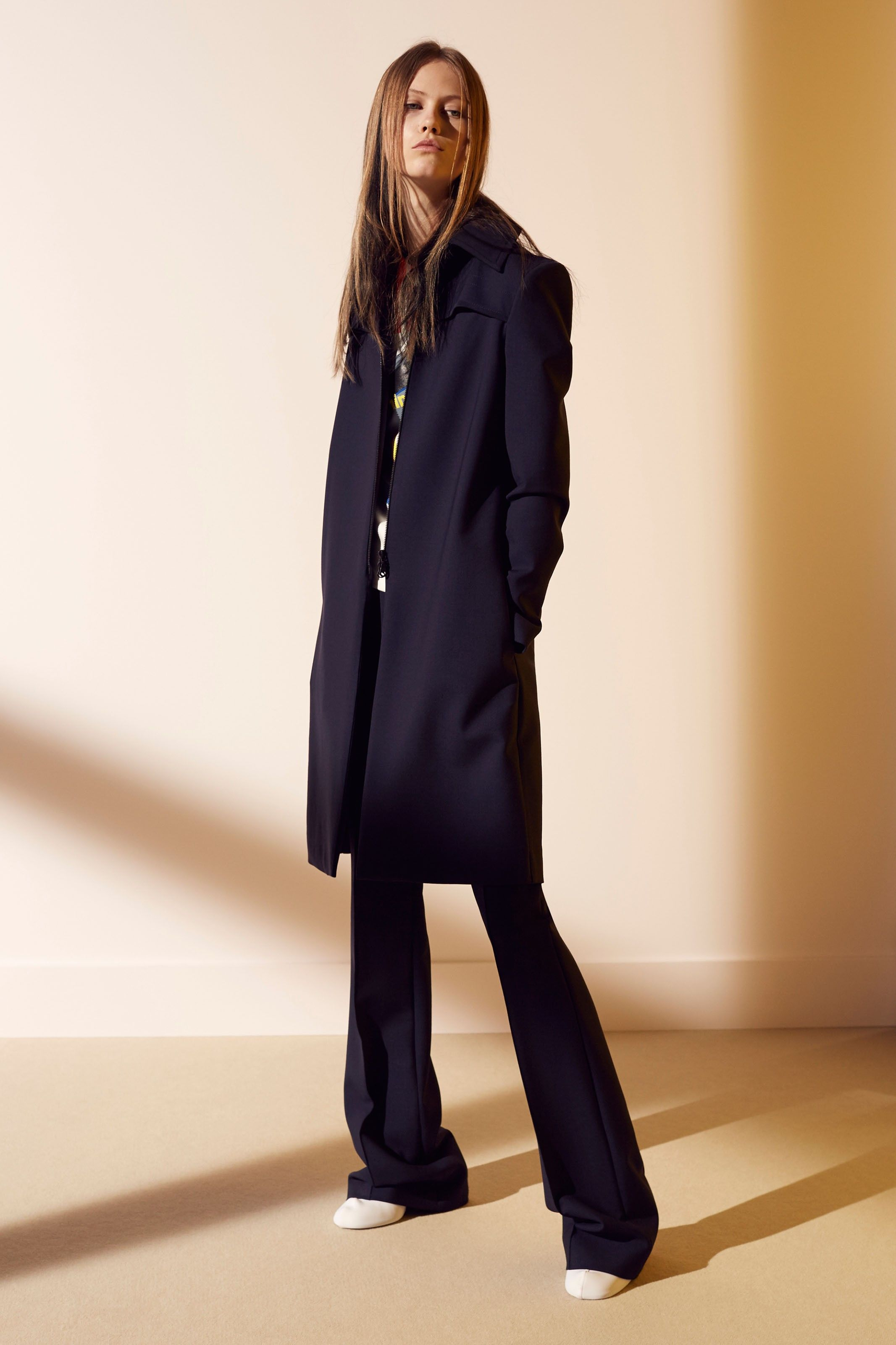 Sponge Wool Long Sleeve Jacket | Dream Tee | Sponge Wool Flare Trouser