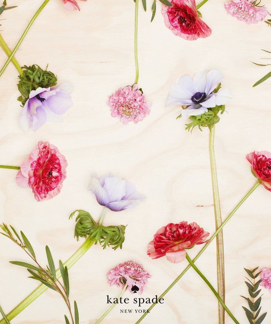Spring Blooms To Go Download Them Iphone Wallpaper Kate Spade Kate Spade Wallpaper Wallpaper Iphone Kate Spade