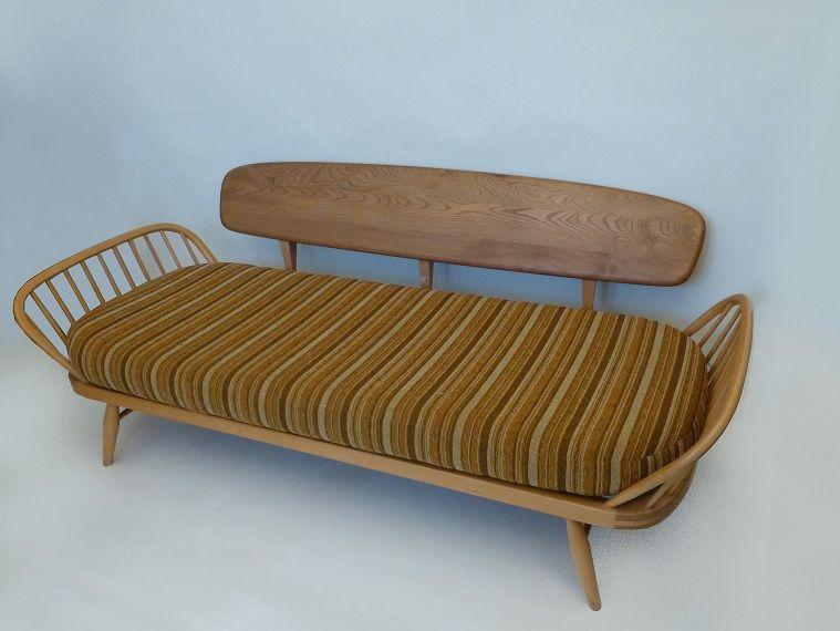 Vintage Ercol Studio Sofa Or Daybed Retro Living London Uk Ercol Furniture Danish Furniture