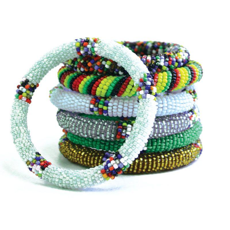 African Beaded Jewelry Mai Bracelets Round 18 00