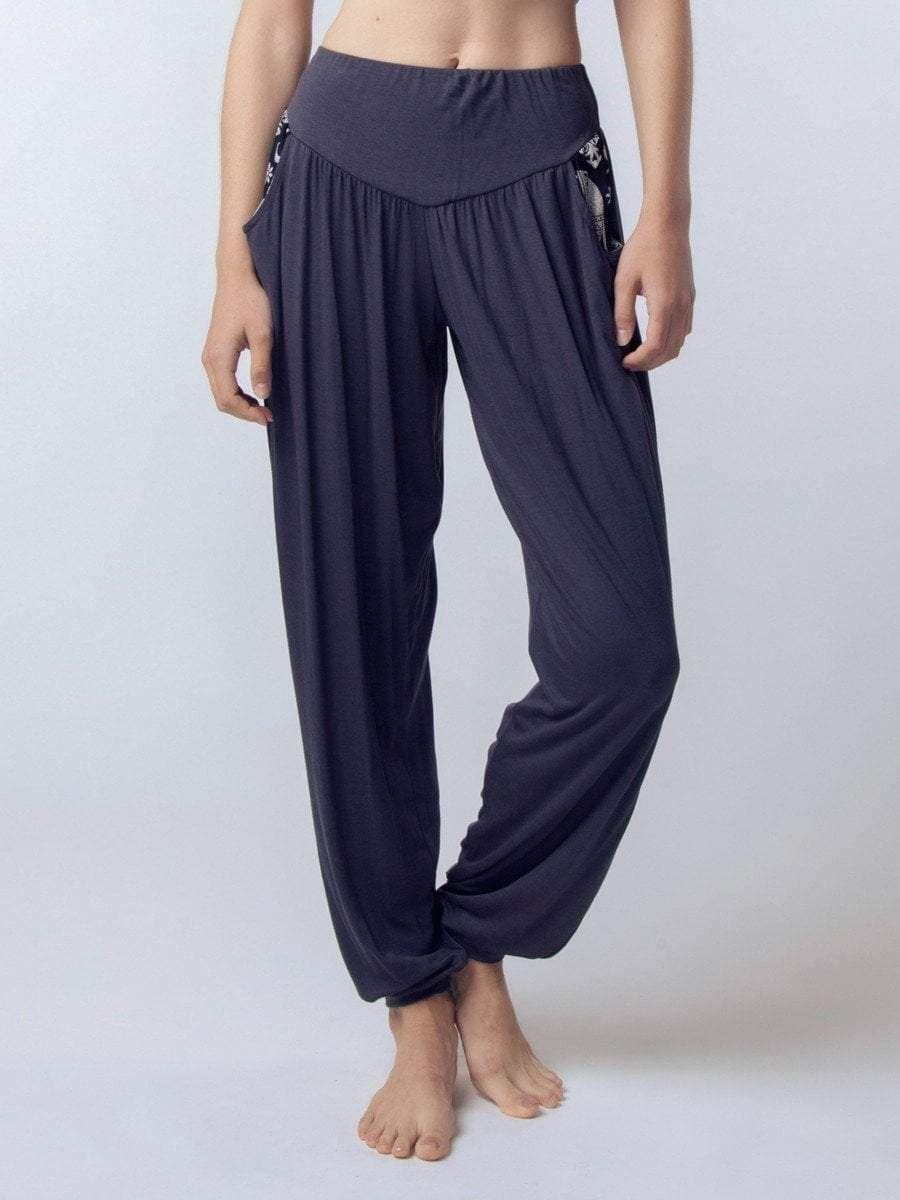 a69b8511ea39 Women s Kihari Gray Yoga Pants – The Elephant Pants