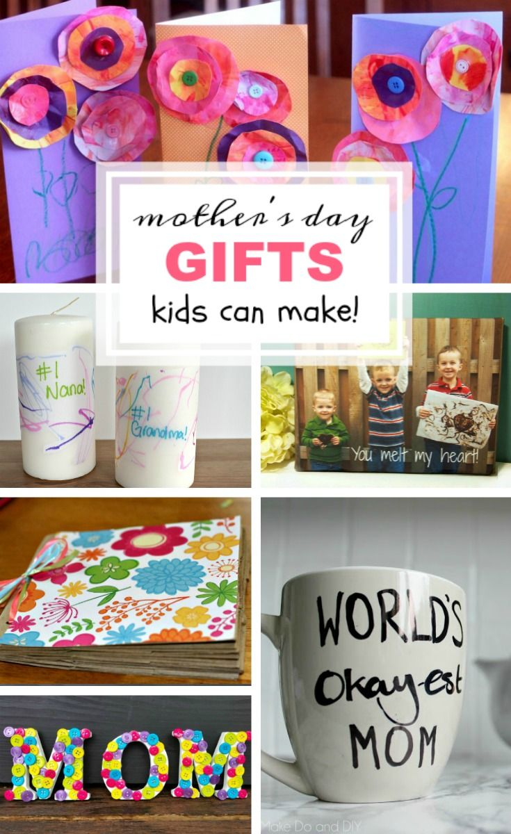 Mother's Day Gifts Kids Can Make   Makeovers and Motherhood