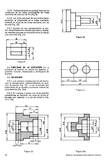 Tecnologia De La Representacion Lgy Norma Iram 4513 Dibujo Tecnico Acotacion De Planos En Dibujo Mecanico Tecnicas De Dibujo Dibujo Mecanico Planos