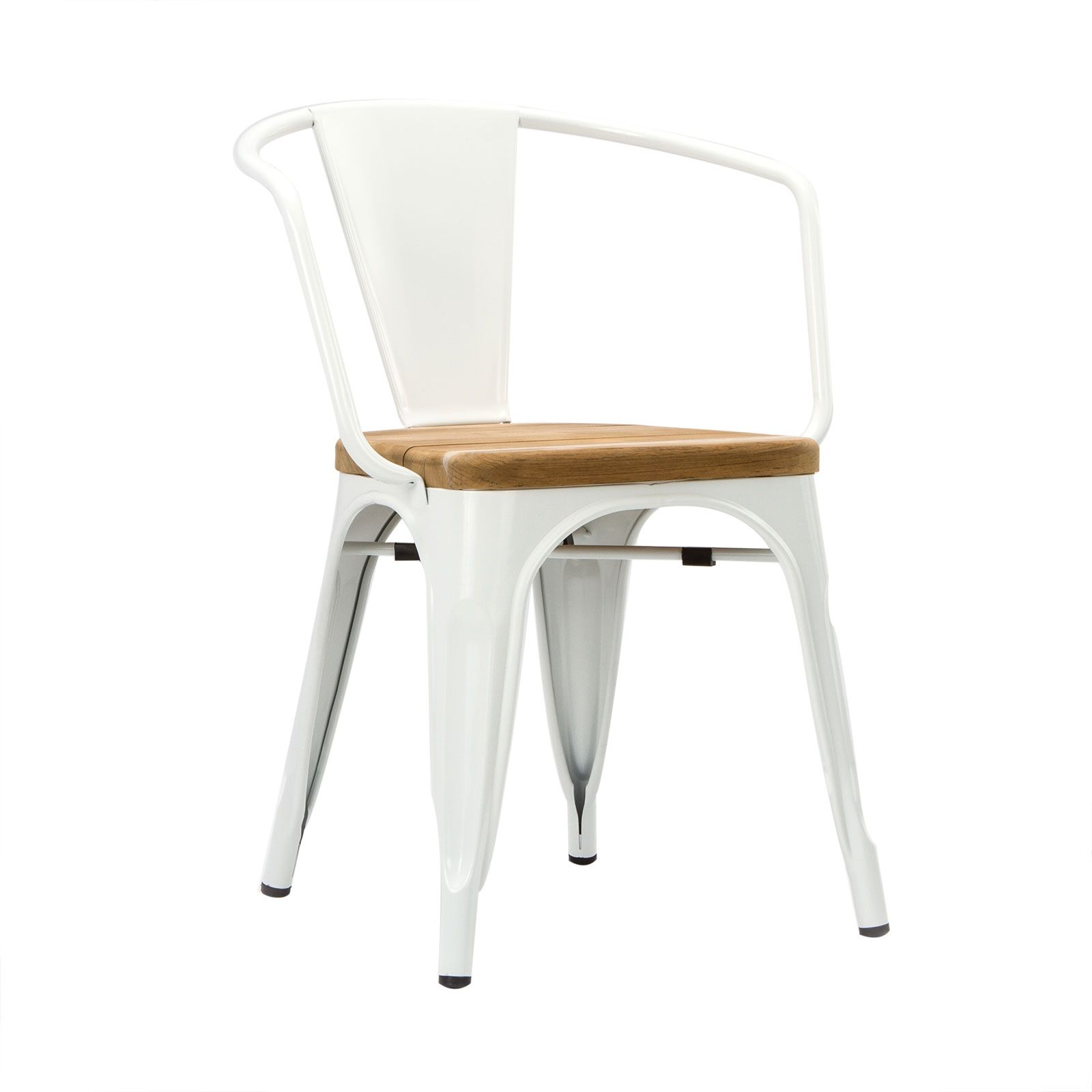 Hand Finished, The Highly Durable Bistro Armchair Is Made From Grade A  Sheet Metal.