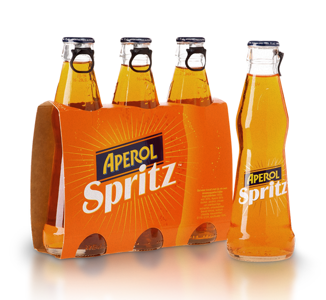 Aperol Spritz is is undoubtedly the most widespread and