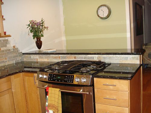 Another stove in peninsula kitchen ideas pinterest - Kitchen peninsula with stove ...