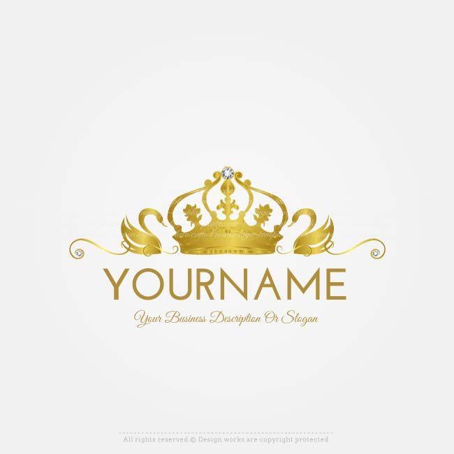 Online Free Logo Maker Swans Logo Design Logo Design Free Logo Design Pet Logo Design