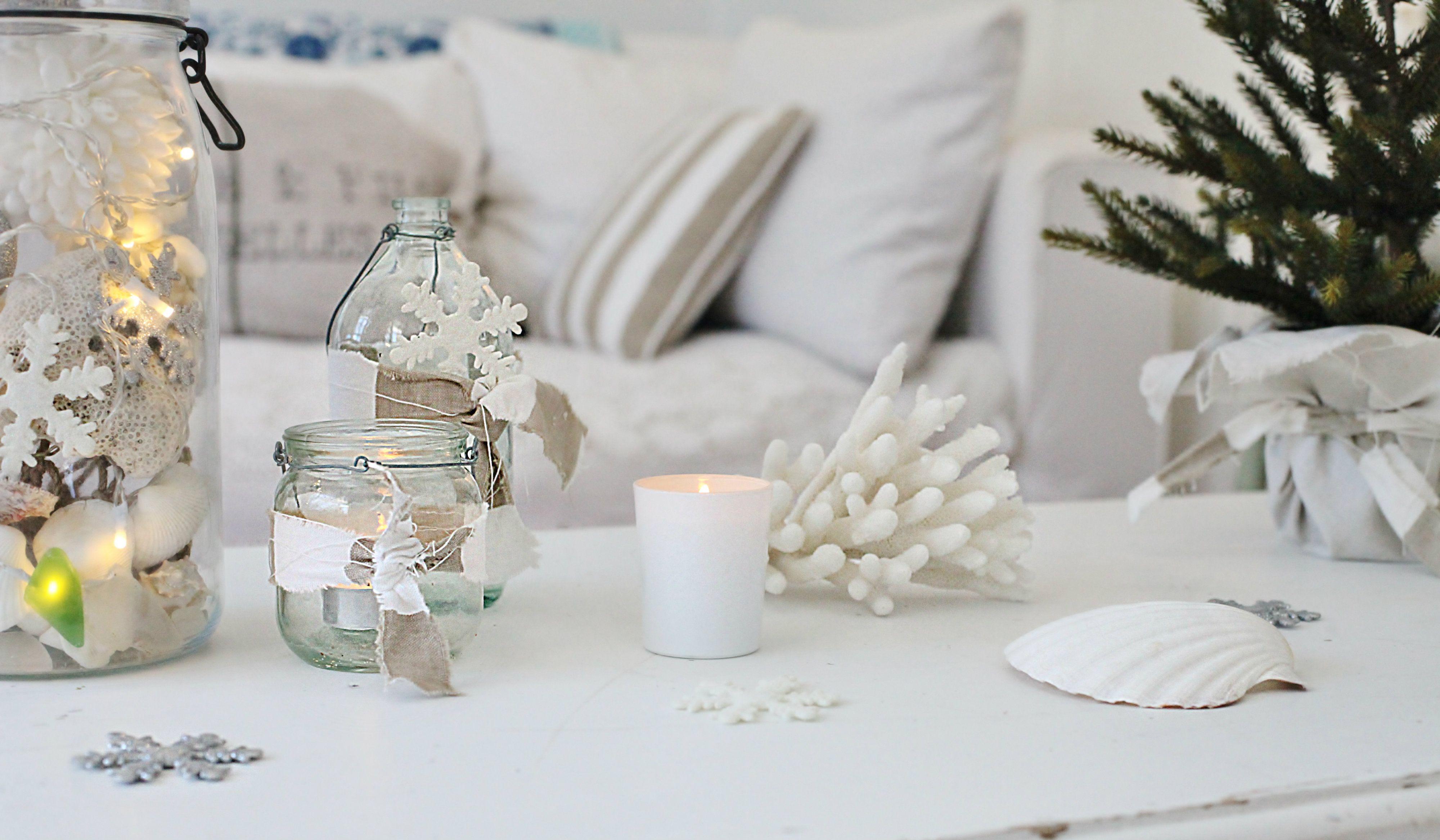Love Your Christmas Home DAY 6 - Beach Decor Blog, Coastal Blog, Coastal Decorating