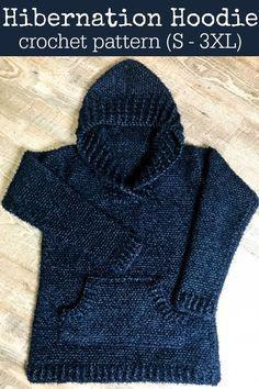 Photo of Hibernation Hoodie Crochet Pattern – – #Crochet #Hibernation #Hoodie #Pattern