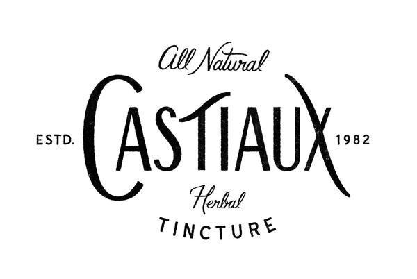 Castiaux's All Natural Tincture Tea by Lorena Mondragon, via Behance
