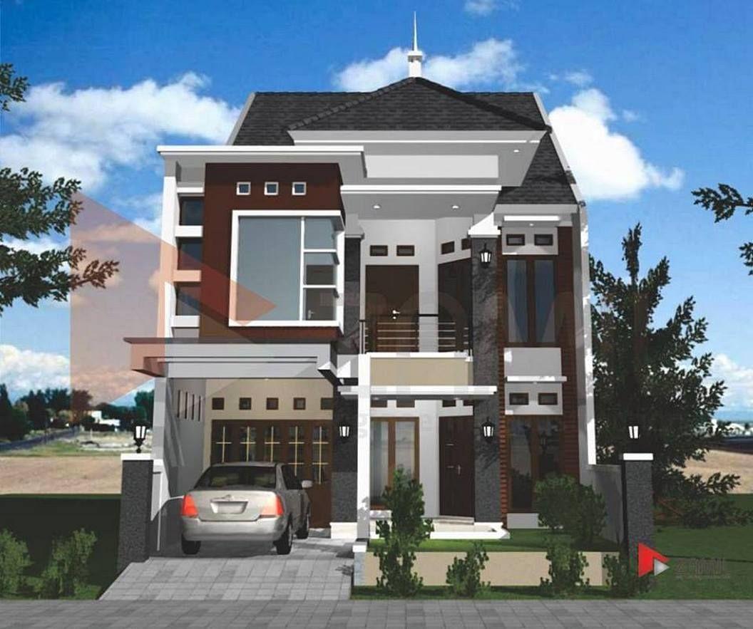Gambar Model Rumah Minimalis 2 Lantai Desain Rumah Minimalist