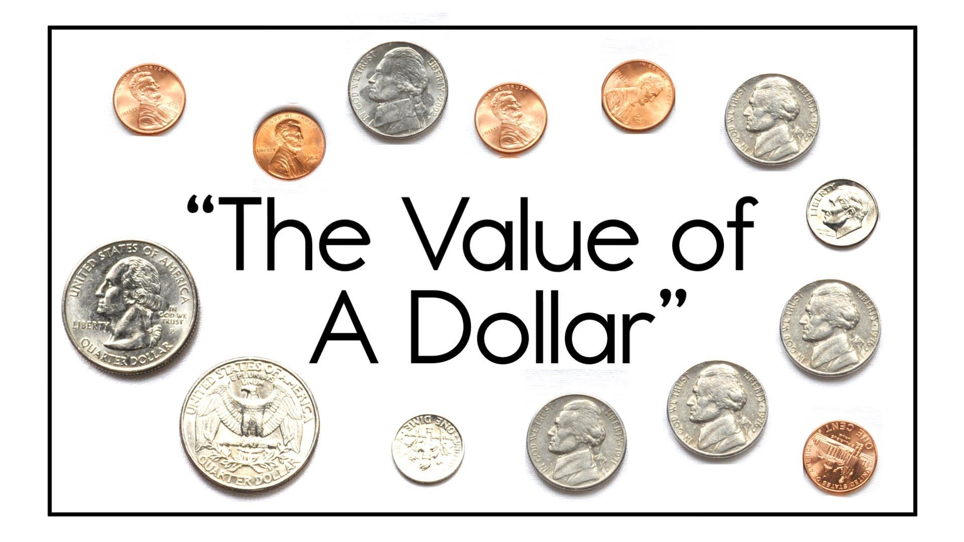 The Value Of A Dollar Song 1 42 Teaches The Coins That